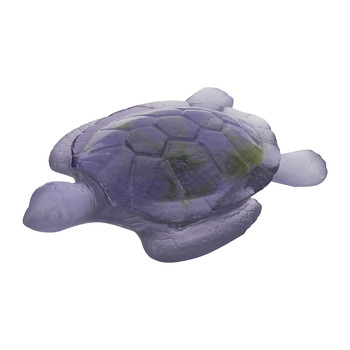 Turtle Sculpture - Violet