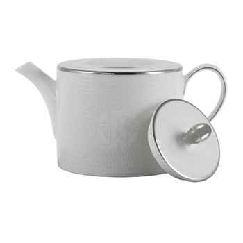 Lizzard Tea/Coffee Pot - Platinum