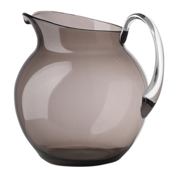 Palla Acrylic Pitcher - Smoke