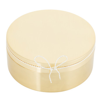 Love Knots Covered Box - Gold
