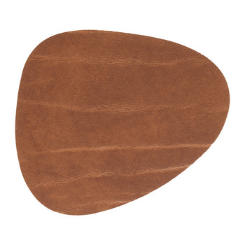 Reversible Table Mat Curve - Black/Natural