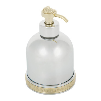 I Classici Liquid Soap Dispenser - Chrome & Gold Finish