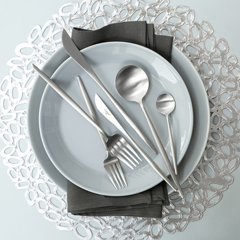 Moon Matt Flatware Set - 75 Piece