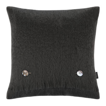 Degrew Mohair Cushion - 40x40cm - Gunmetal
