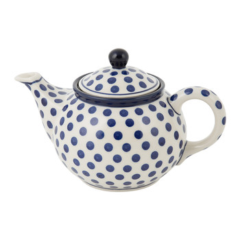 Teapot - Blue Dots