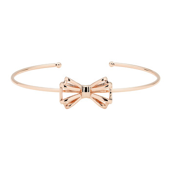 Sennya Sweetie Bow Ultra Thin Cuff - Rose Gold