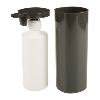 Tall Birillo Liquid Soap Dispenser - Dark Grey