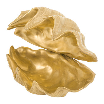 Porto Cervo Shell - Full Antique Gold
