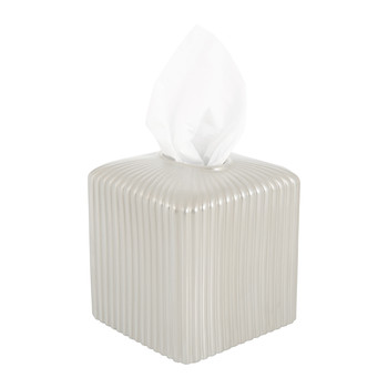 Reve D'une Princesse Tissue Box - Pearl Grey