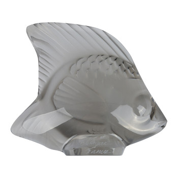 Fish Figure - Gray