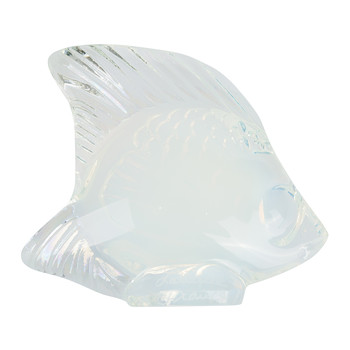 Fish Figure  - Opalescent Lustre