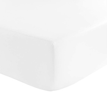 Barocco&Robe Fitted Sheet - 200x205cm - White