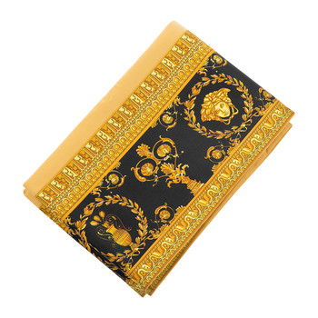 Barocco&Robe Flat Sheet - 270x300cm - Gold/Black