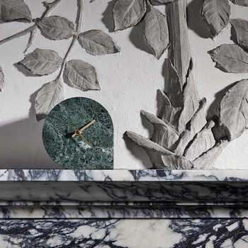 Stilla Marble Clock - Forest