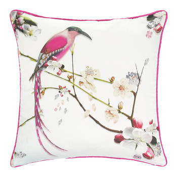 Flight of the Orient Bed Cushion - 45x45cm
