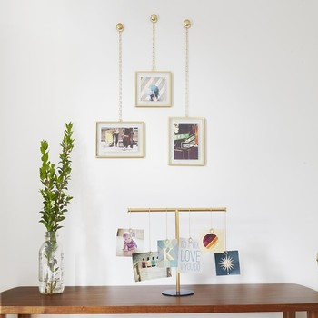 Fotochain Wall Photo Display - Matt Brass
