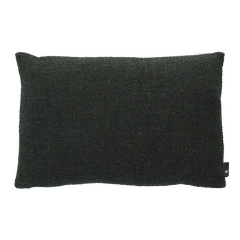 Eclectic Collection Cushion - Green Boucle