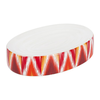 Ikat Soap Dish - Red