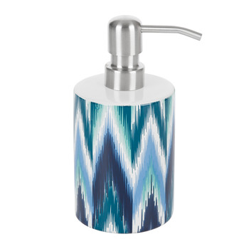 Ikat Soap Dispenser - Blue
