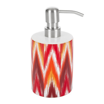 Ikat Soap Dispenser - Red