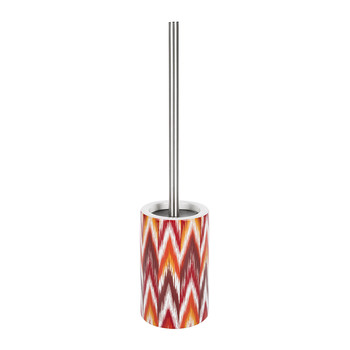Ikat Toilet Brush - Red