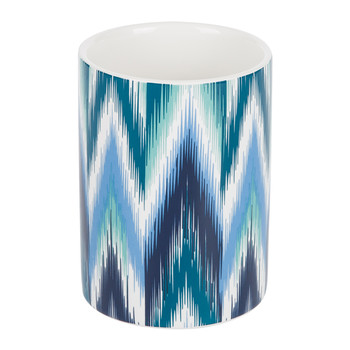 Ikat Toothbrush Holder - Blue