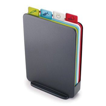 Index Compact Chopping Board Set - Graphite