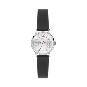 Frankie Watch with Thick Strap - Black