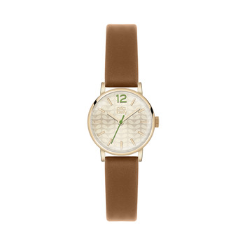 Frankie Watch with Thick Strap - Brown