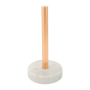 Copper & Marble Kitchen Paper Stand