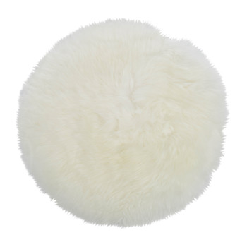 New Zealand Sheepskin Seat Pad - Long Wool - Ivory