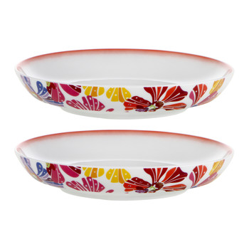 Flowers - Soup Dish - Set of 2