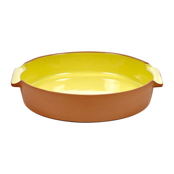 Bakeware Oven Dish - Large - Yellow