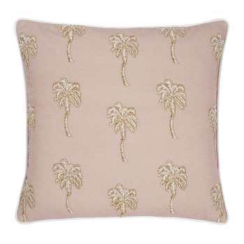 Palmier Cushion - Taupe