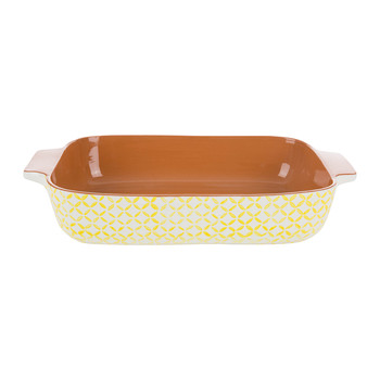 Sugarbush Terracotta Oven to Table Dish - Yellow