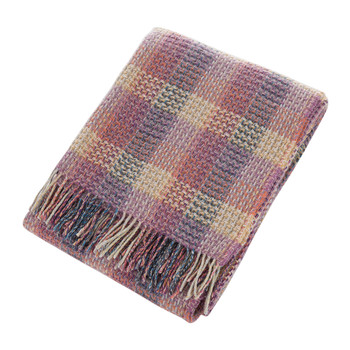 Waxflower Wool Throw