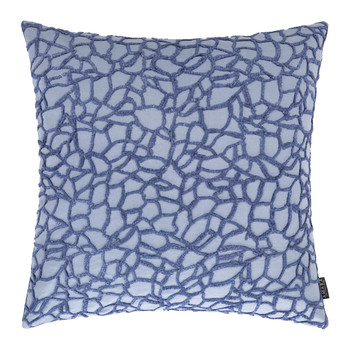 Hemera Linen/Cotton Cushion - 45x45cm - Blue