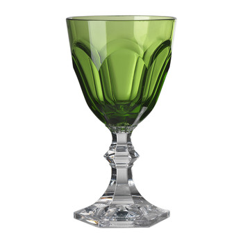 High Dolce Vita Acrylic Wine Glass - Green