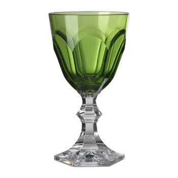 Small Dolce Vita Acrylic Wine Glass - Green