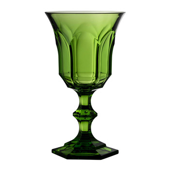 Victoria & Albert High Acrylic Wine Glass - Green
