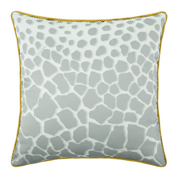 Jerapah Silk Bed Cushion - Grey