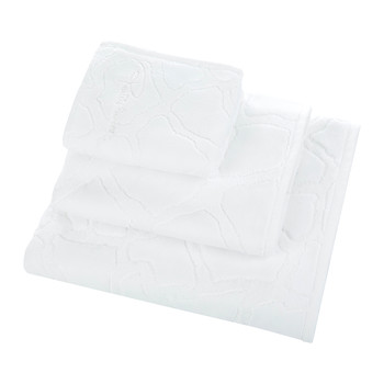 Jerapah Towel - White