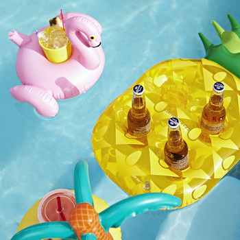 Inflatable Drinks Holder - Pineapple
