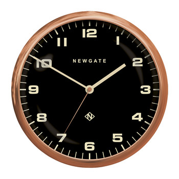 Chrysler Wall Clock - Reverse Dial - Radial Copper