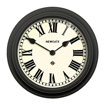 Theatre Clock - Black