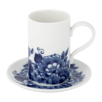 Blue Ming Coffee Cup & Saucer