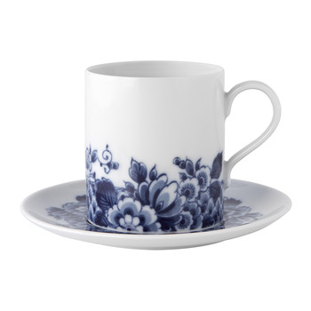 Blue Ming Teacup & Saucer - Small