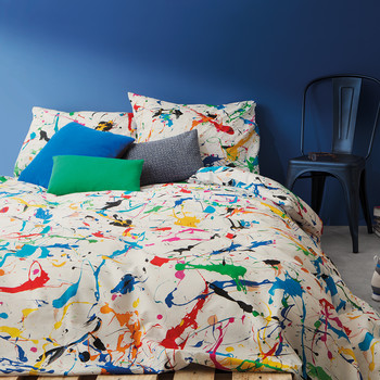 Splatter Duvet Set - Single