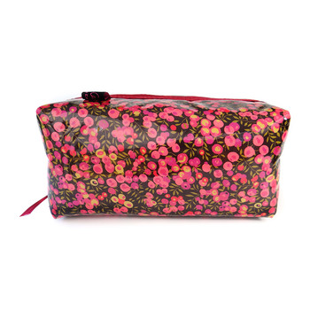 Box Cosmetic Bag - Liberty Wiltshire Purple
