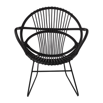 Singapore Open Chair - Black